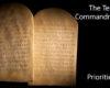 Priorities - The Ten Commandments